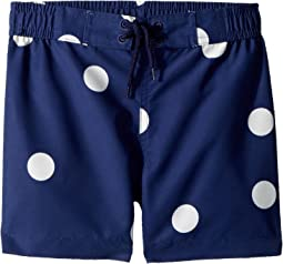 mini rodini Dot Swim Shorts (Infant/Toddler/Little Kids/Big Kids)