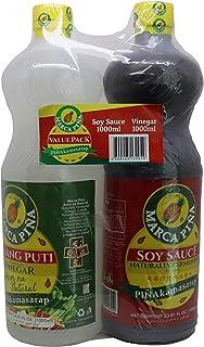 Marca Pina Soy Sauce & Vinegar, 1 liter