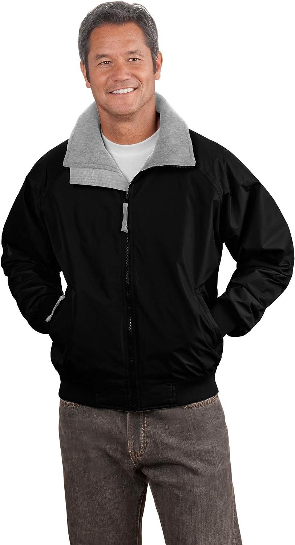 Port Authority Tall Challenger; Jacket>LT True Black/ Grey