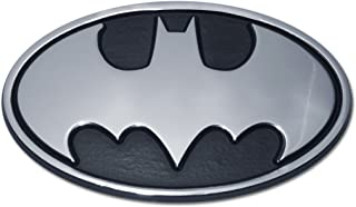 Batman Oval Chrome Emblem