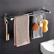 Wieszak na ręczniki wieszaki na ręczniki do łazienki, drążek na ręczniki wieszak na ręczniki ze stali nierdzewnej, półka n...
