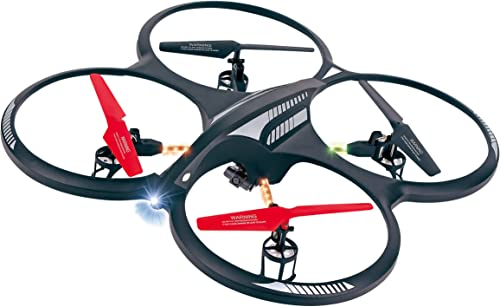HyCell  X Drone XL Camera  RC drone avec Caméra Quadcopter Hélicoptère RtF (télécomhommede à 4 canaux 2,4 GHz)