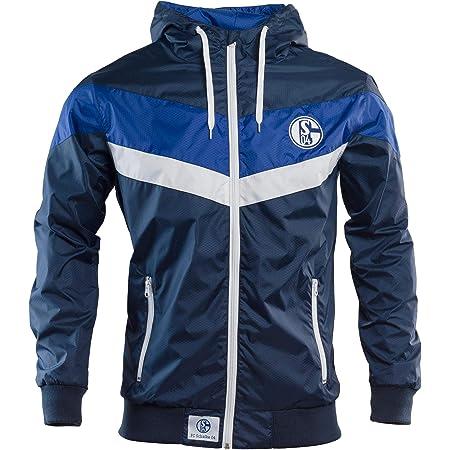 Schalke 04 Windbreaker Wind-Jacke 2XL