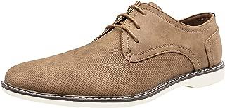 Men's Dress Shoes Suede Plain Toe Oxford Casual Dress Shoes for Men