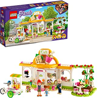 LEGO Friends Heartlake City Organic Café 41444 Building Kit; Modern Living Set for Kids Comes Friends Mia, New 2021 (314 Pieces)