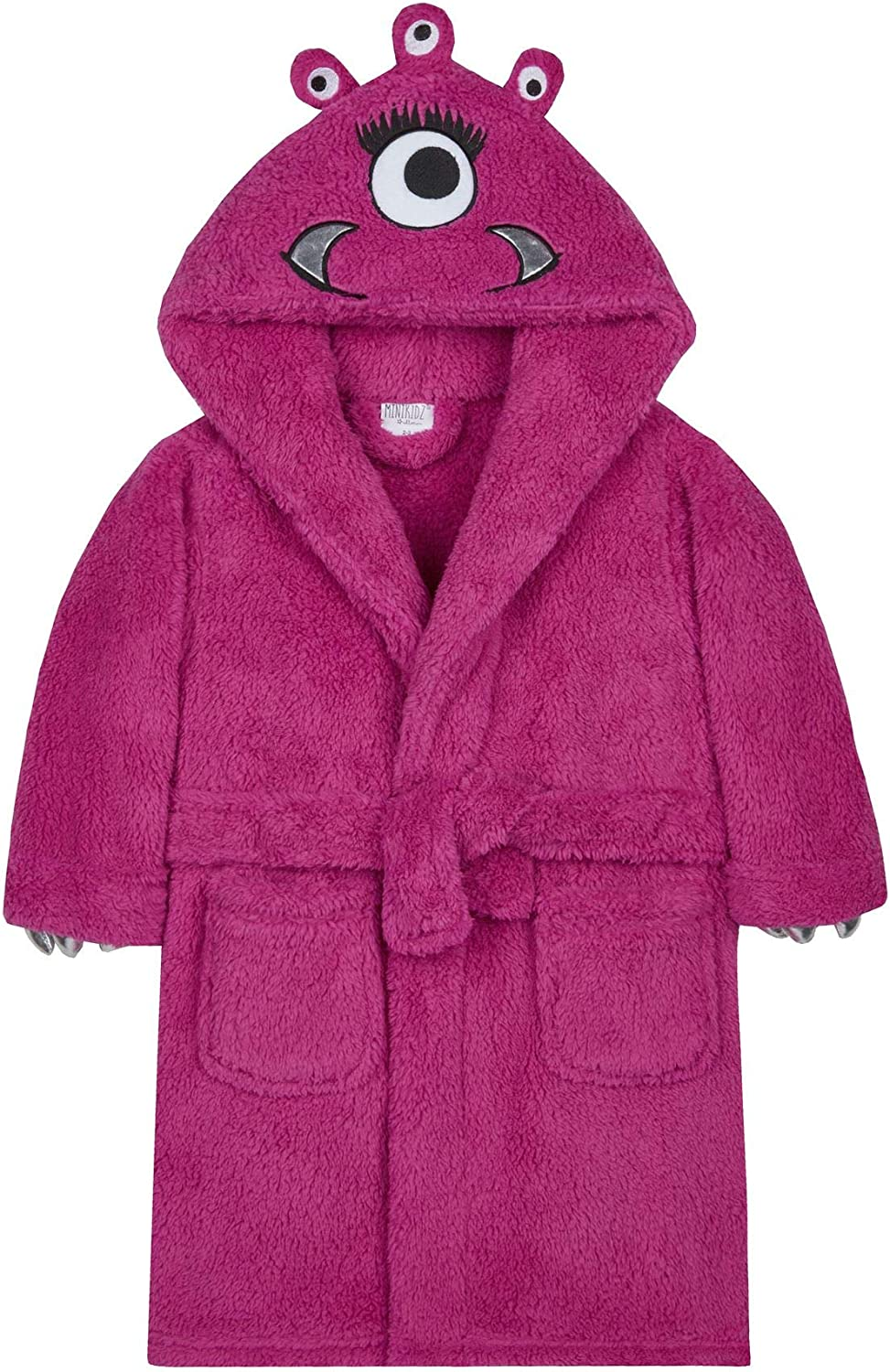 Kids Monster Time sale Ranking TOP12 Dressing Gown 2-3 Pink 18C469 Years