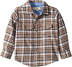 Tristan Flannel Shirt (Toddler/Little Kids/Big Kids)