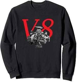 V8 Engine Muscle Car Big Block Sweatshirt