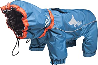 DOGHELIOS 'Weather-King' Windproof Waterproof and Insulated Adjustable Full Bodied Pet Dog Jacket Coat w/Heat Retention Te...