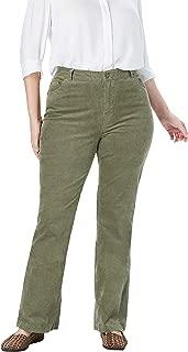 Woman Within Women's Plus Size Petite Stretch Corduroy Bootcut Jean