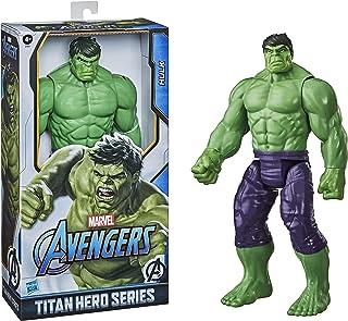 Marvel Avengers Titan Hero-reeks Blast Gear Deluxe Hulk-actiefiguur van 30 cm, geïnspireerd op de Marvel-stripboeken, voor...