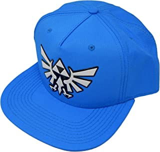 Zelda Chrome Weld Ballistic Nylon Snapback Baseball Hat Blue