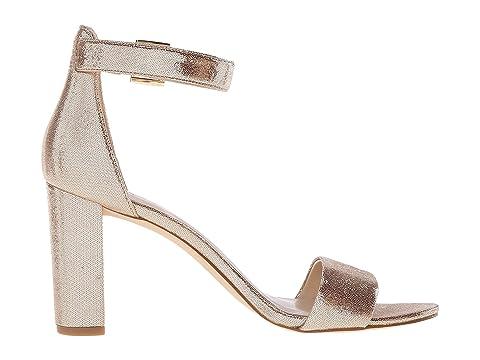 Nora Block Gold Metallic Nine Heel West Sandal 5qwxnCPU6