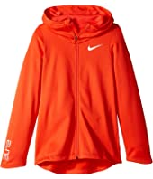 Nike Kids - Basketball Full-Zip Hoodie (Little Kids/Big Kids)