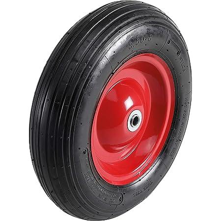 LY Tools 3.50//4.00-8 Chambre /à air uniquement pour roue//pneu valve coud/ée