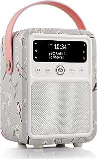 RSPB Monty DAB & DAB+ Digital Radio with FM & AM, Bluetooth & Alarm Clock by VQ – Long-Tailed Tit
