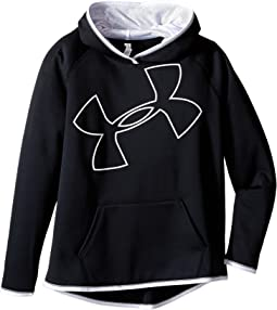 Under Armour Kids - Storm Armour Fleece Big Logo Hoodie (Big Kids)