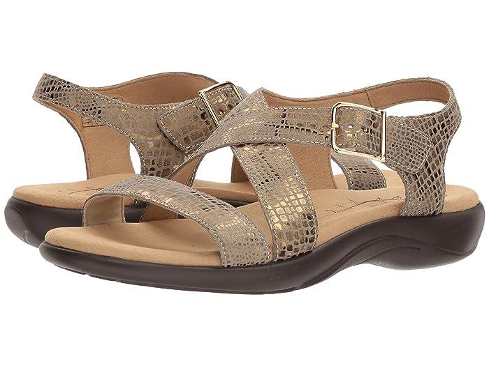 SAS Laguna (Olive Gold) Women's Sandals
