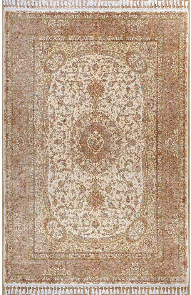 Yilong 5.6'x8' Handmade Louisville-Jefferson County Mall Persian Silk Selling rankings Rug Classic Traditional Ori