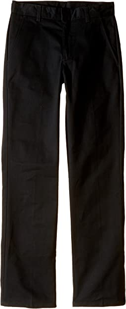Slim Fit Flat Front Pants (Big Kids)