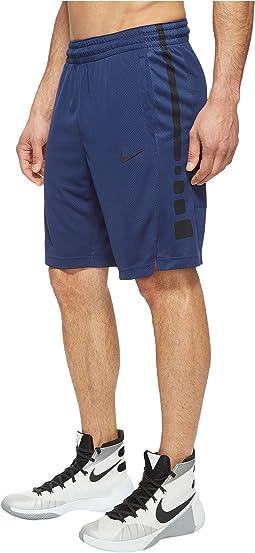 Elite Stripe Basketball Short