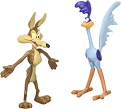 Looney Tunes Action Figures Wile E Coyote /& Road Runner Bendable lt-4807