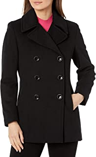Women's Double-Breasted Classic Peacoat