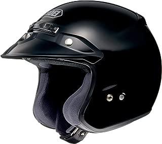 Shoei Solid RJ-Platinum R Cruiser Street Helmet - Large,Black