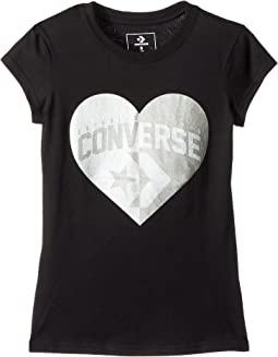 Split Heart Tee (Big Kids)