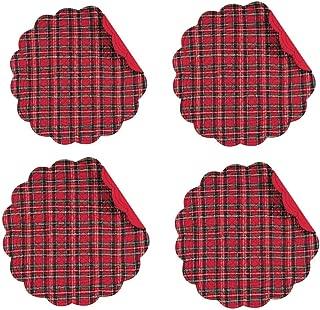 tartan table mats