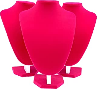 pink jewelry display