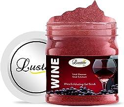 Luster Wine Exfoliating Face & Body Gel Scrub (Paraben & Sulfate Free)-500 ml