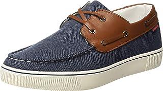 US Polo Association Men's Navy Boat Shoes-8 UK/India (42 EU) (2531826779)