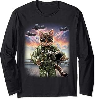 Cat as Jet Fighter Pilot, T-Shirt