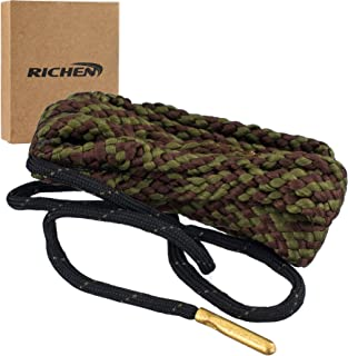 RICHEN Boresnake Gun Cleaning,Gun Barrel Cleaner,Gun Bore Cleaner for Rifle/Pisto/Shotgun
