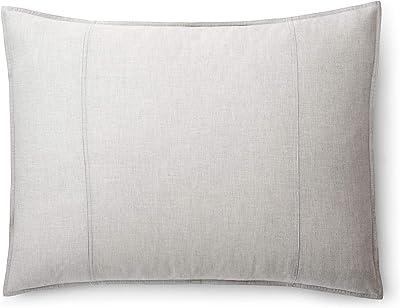 Ralph Lauren Graydon Melange Pillow Sham King - Fog
