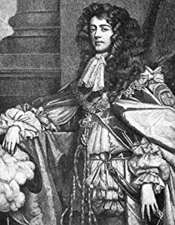 James Scott (1649-1685) Nduke Of Monmouth Natural Son Of King Charles Ii Of England Claimant To The British Throne And Leader Of Rebellion Line Engraving After A Painting By Sir Peter Lely Poster Prin