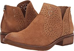 Cognac Oiled Cow Suede