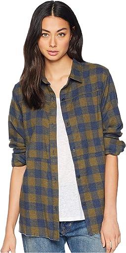 Long Sleeve Wilson Flannel Top