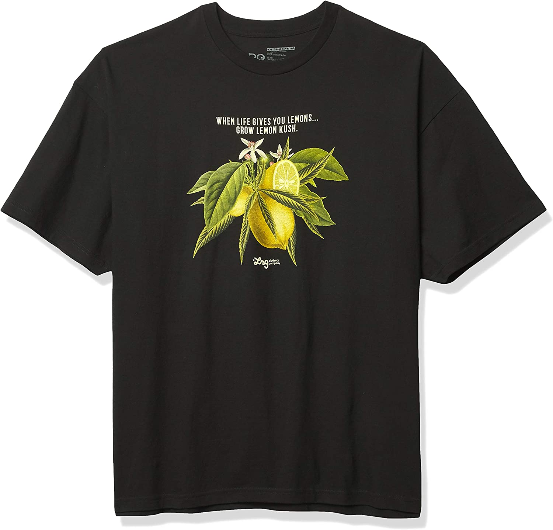 LRG Men's Lemon Kush Smoke Collection Ranking TOP5 Mesa Mall T-Shirt