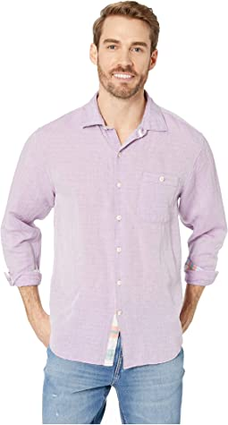 Beach Breaker Sand Linen Shirt