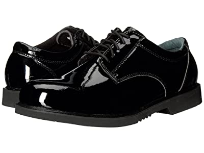 Thorogood Uniform Classics Oxford (High Gloss Pormeric Black) Men
