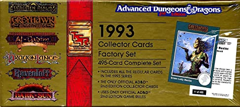 1993 Collector Cards Factory Set: 495-Card Complete Set (Advanced Dungeons & Dragons, 2nd Edition)