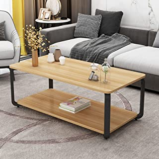 CJDM Table Basse, Petit Rangement d'appartement Petite Table Basse dans Le Salon, Table à thé créative rectangulaire Simpl...