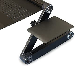 Uncaged Ergonomics WEMPb WorkEZ Mouse Pad for All WorkEZ Laptop Stands, Black