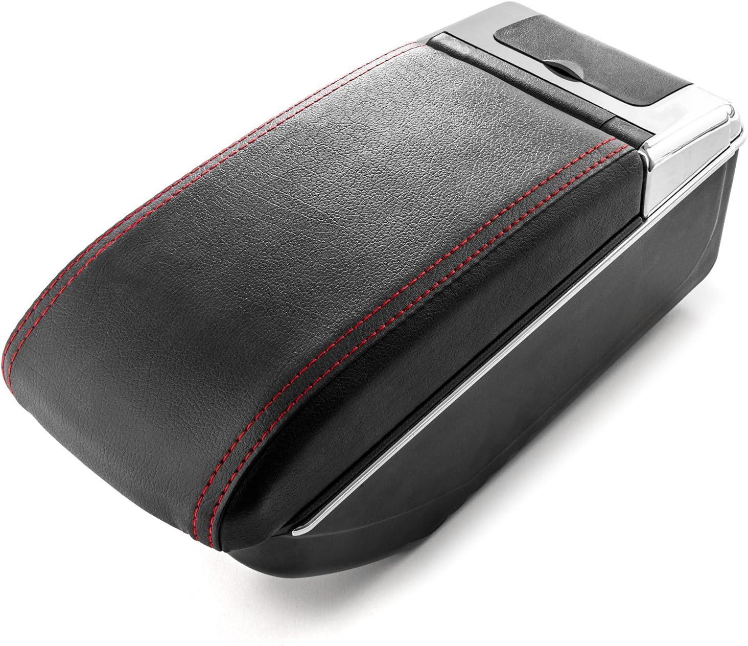 Car Armrest Purchase Center Console Box Black Handrest Storage Compatible Manufacturer regenerated product