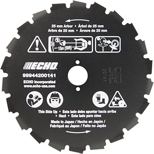 """high quality ECHO 99944200141 22 lowest Tooth Saw Blade 1"""" (25mm) popular Arbor outlet sale"""