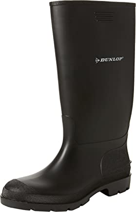 Dunlop Pricemastor PVC Welly / Womens Boots (4 UK) (Black)