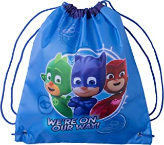 PJ Masks Drawstring Bag Travel Gym Drawstring Backpack Swim Cinch Sack For Storage Traveling PJ Mask Backpacks Bags