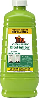 TIKI Brand Clean Burn BiteFighter Mosquito Repellent Torch Fuel, 64 Ounces